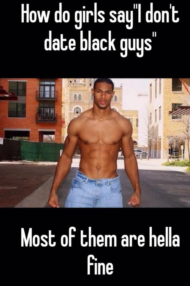 dating black guys meme