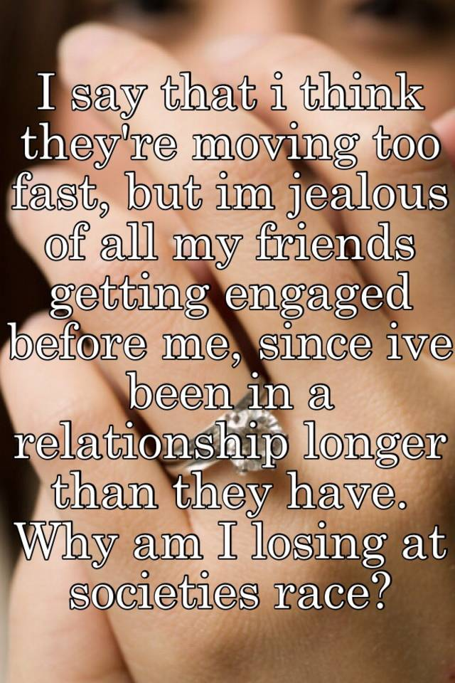 Can not how fast is too fast in a relationship consider, that