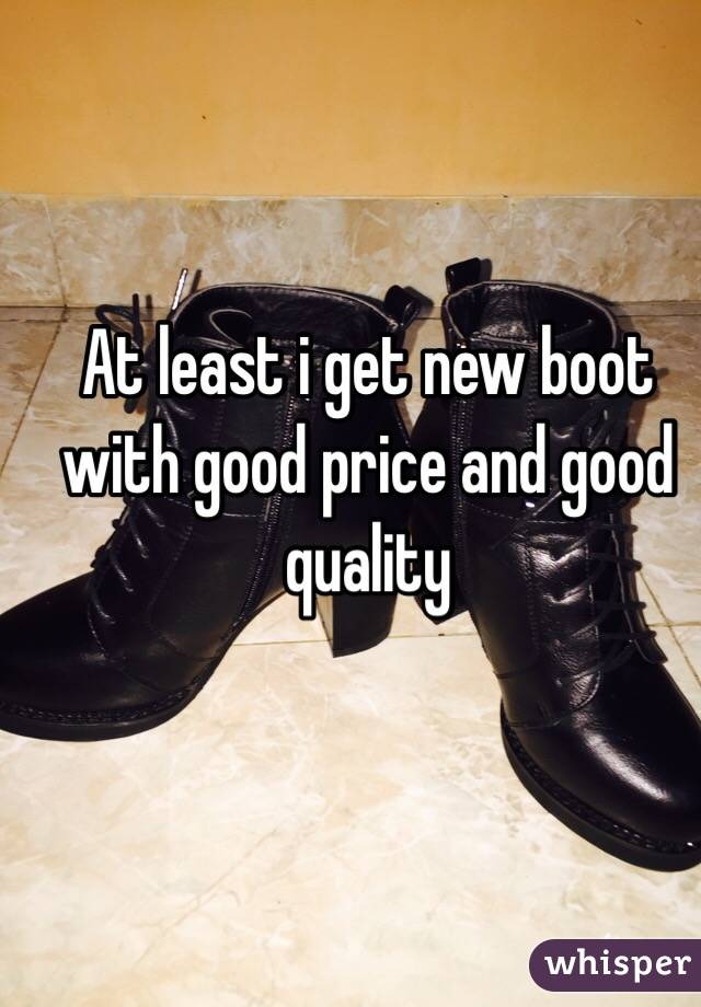 At least i get new boot with good price and good quality