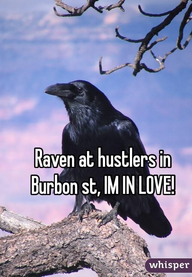 Raven at hustlers in Burbon st, IM IN LOVE!