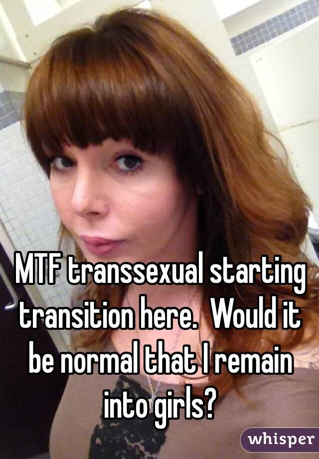 Transsexual transition mtf