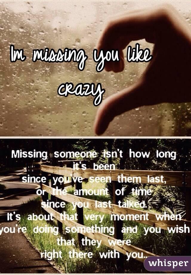 im missing u