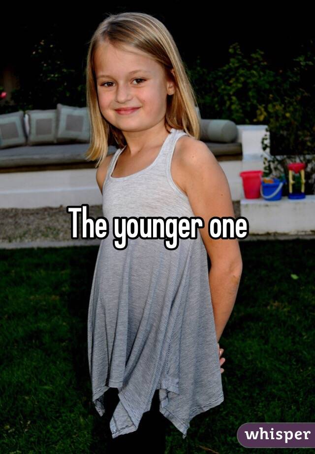 The younger one