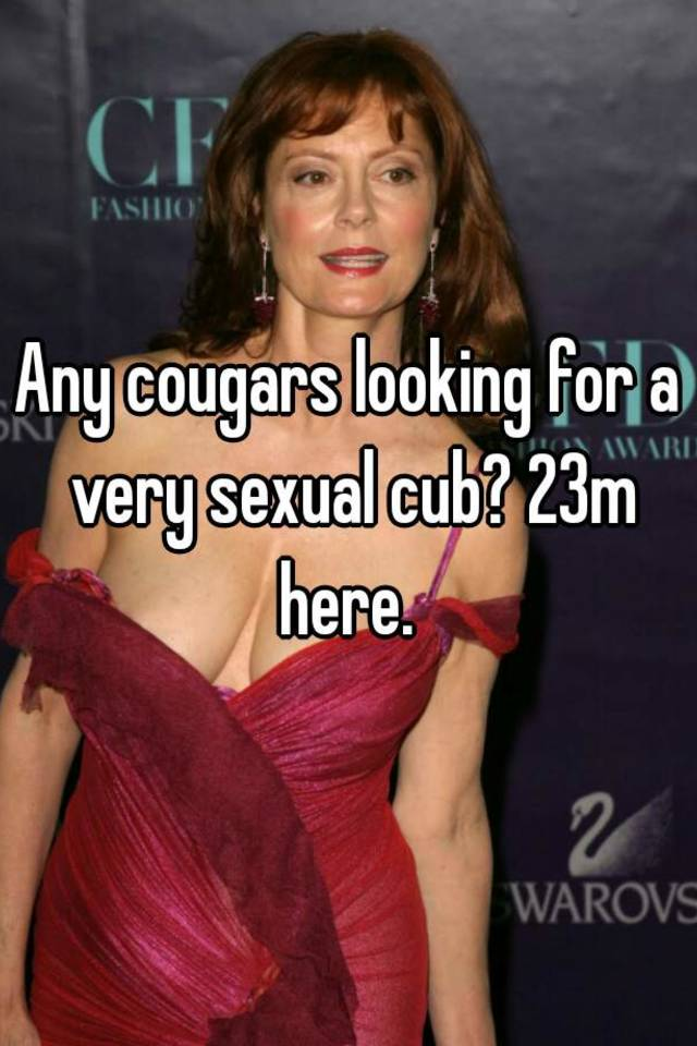 Cougars looking for cubs