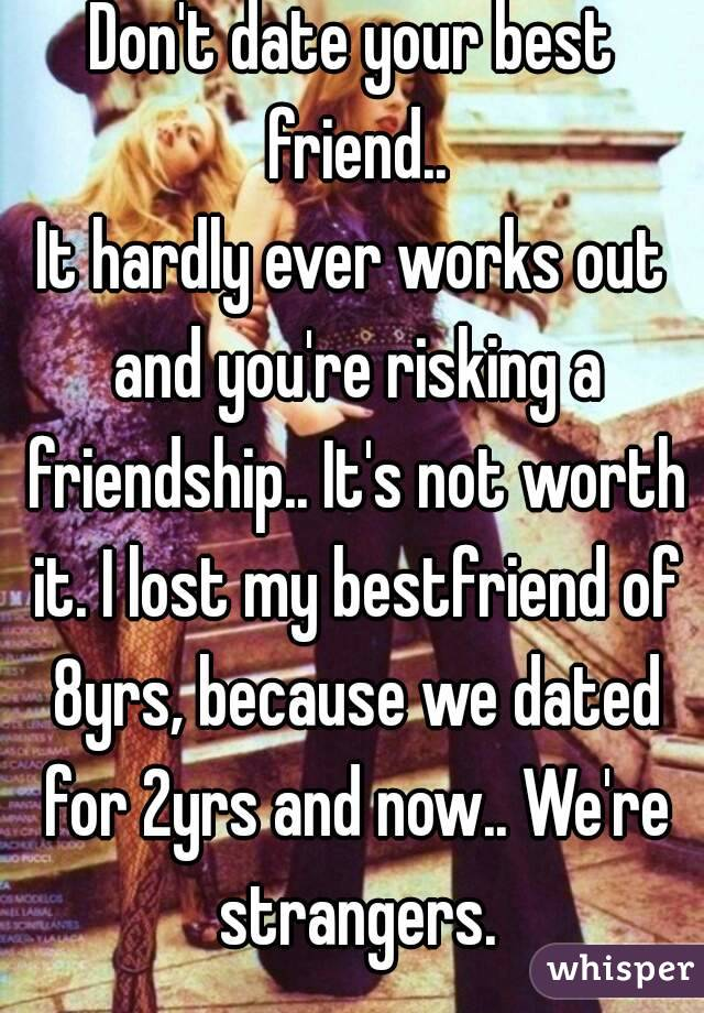 Should i date my best guy friend
