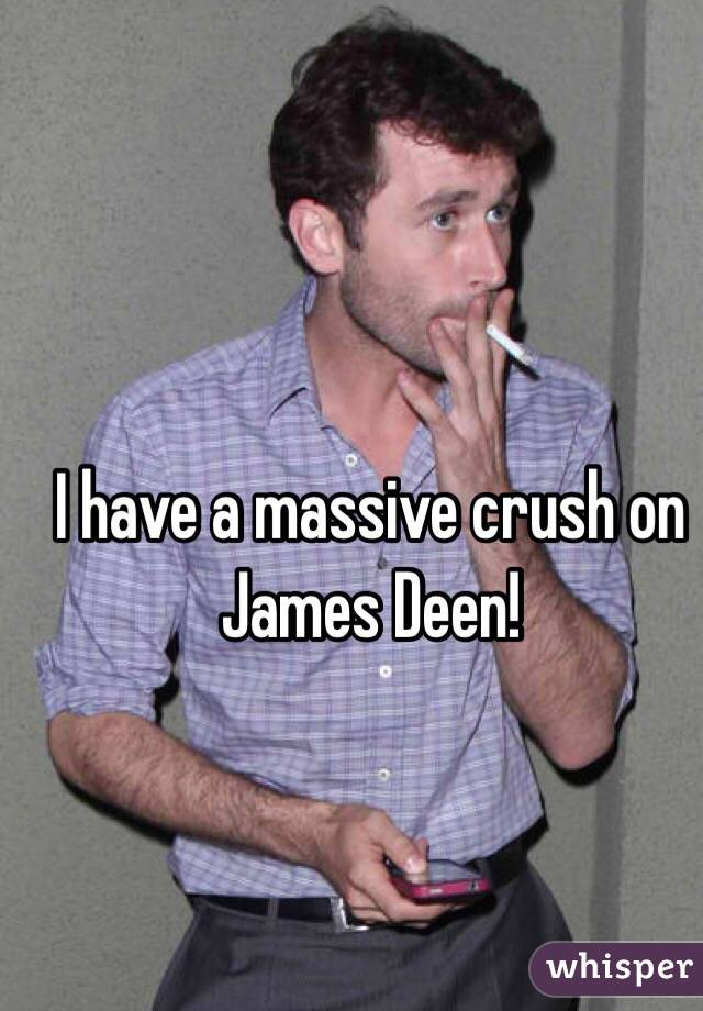 I have a massive crush on James Deen!