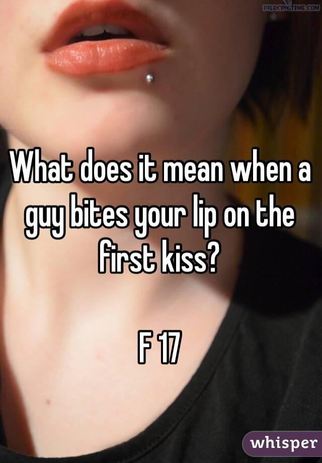 What Does It Not in one's wildest dreams When Guys Piece Their Lip