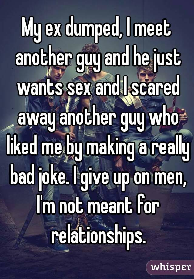 Jokes about bad sex and men