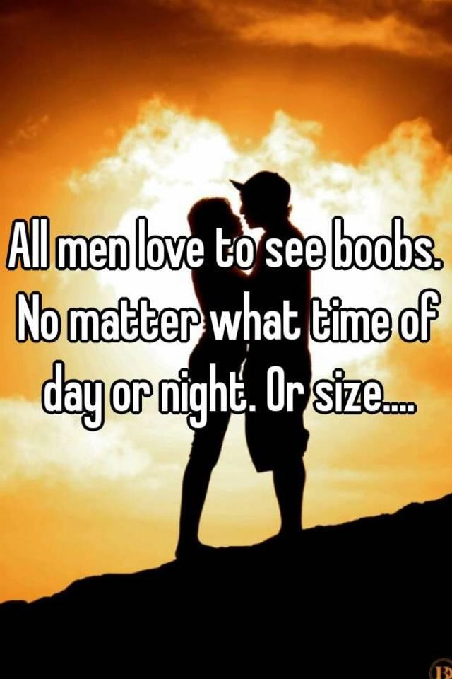 Sorry, boob love man why congratulate