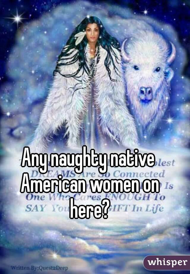 women Naughty native american
