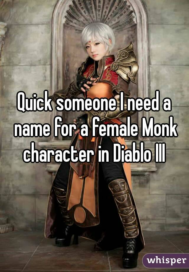 Female game character names