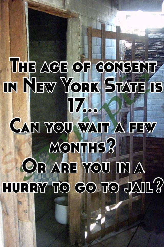 age of consent in new york