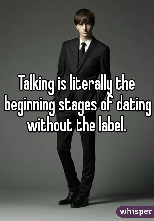 stages of dating a man