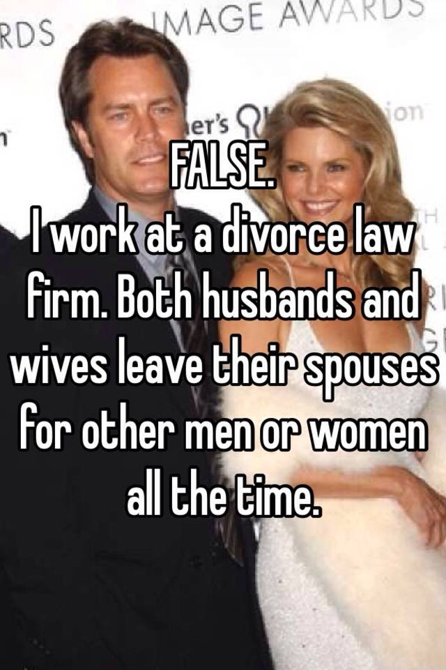 why do wives leave their husbands