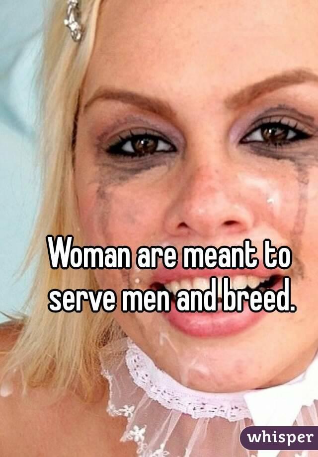 Men breeding women