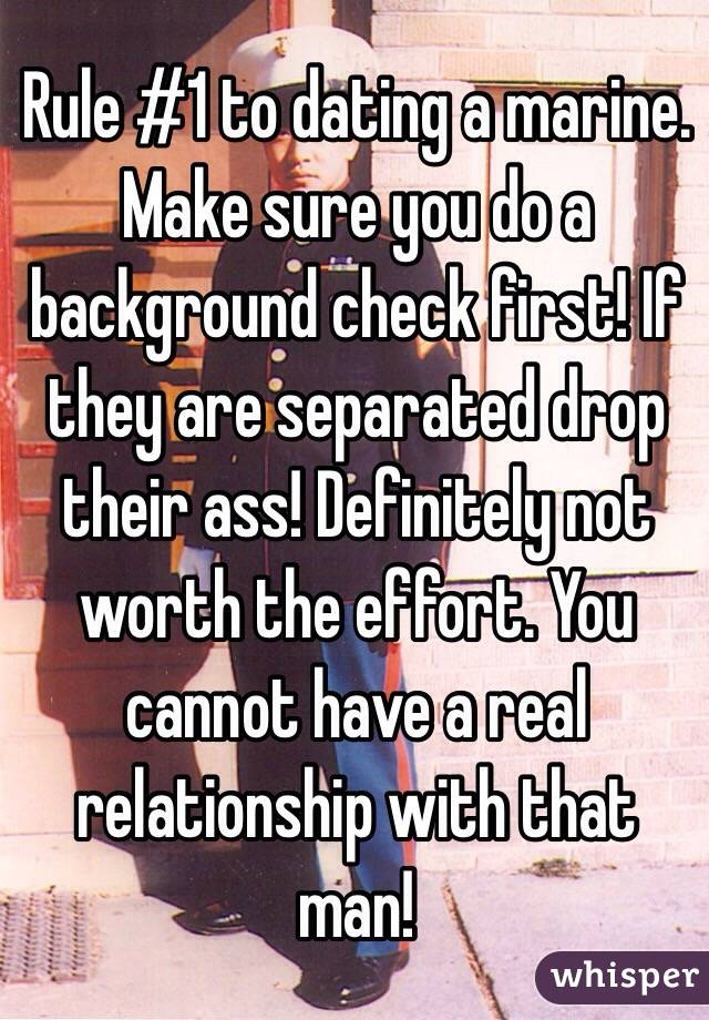 Not dating a check