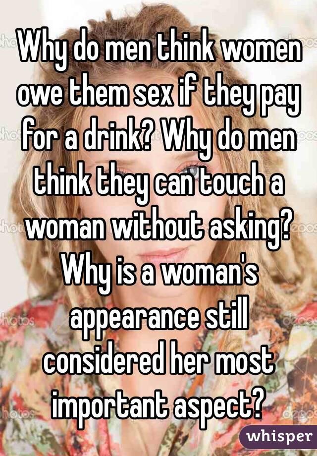 What do men think of women