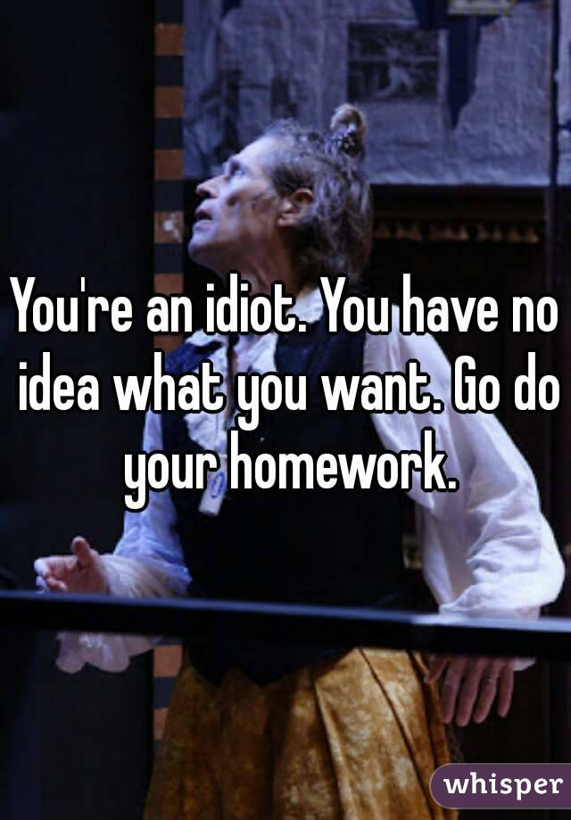 go do your homework