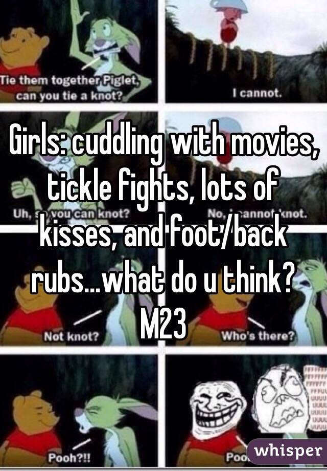 Tickle fights