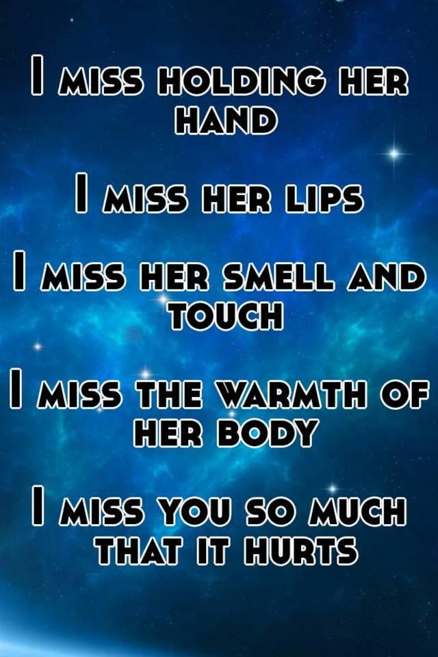 Miss her so much