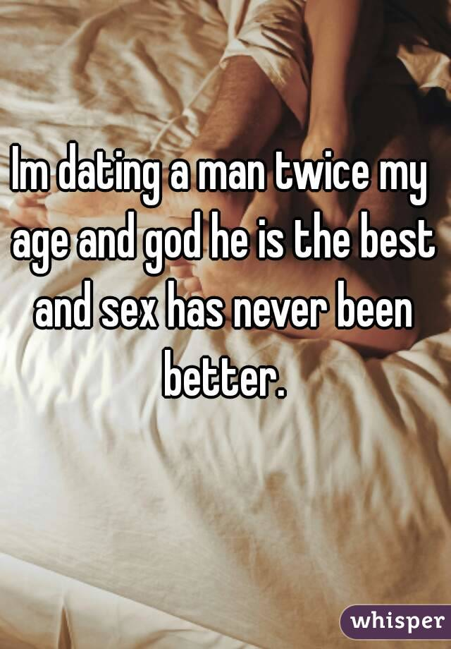 Dating A Man Double My Age