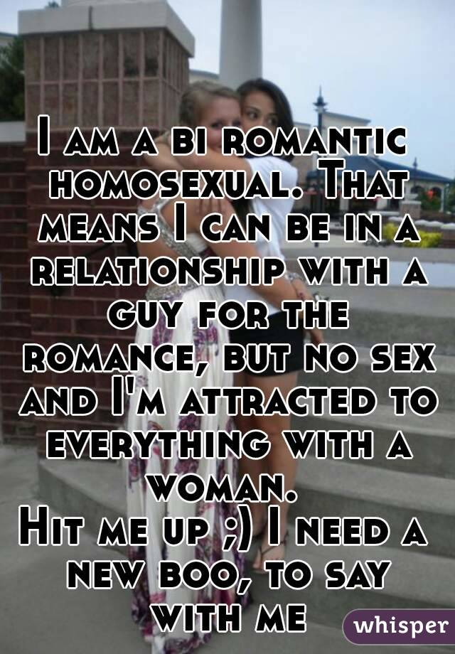 Biromantic homosexual relationship