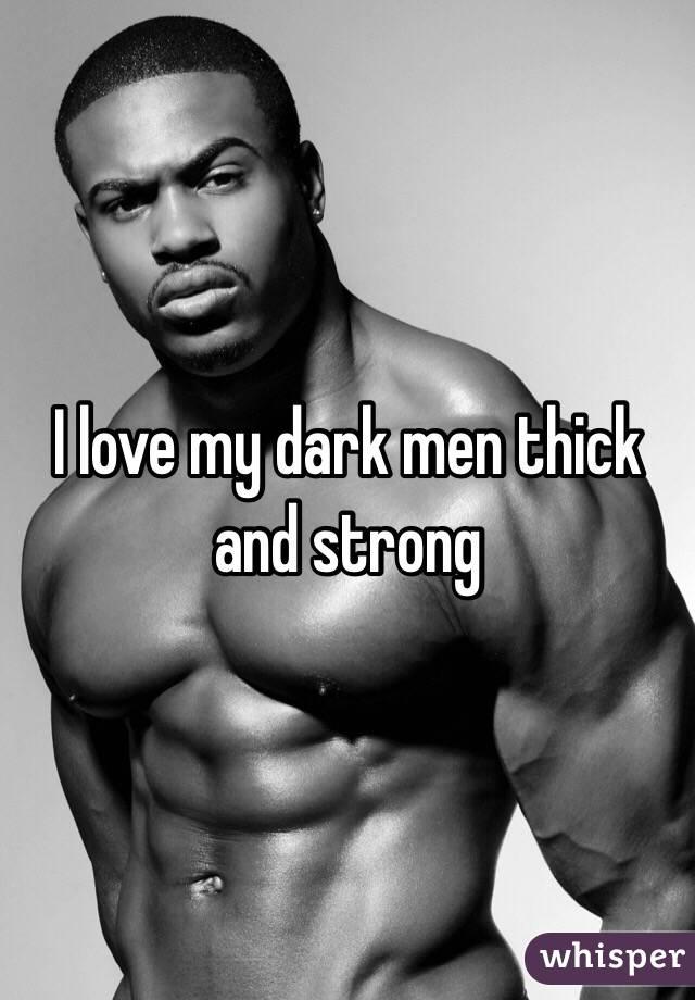 White and dark man love