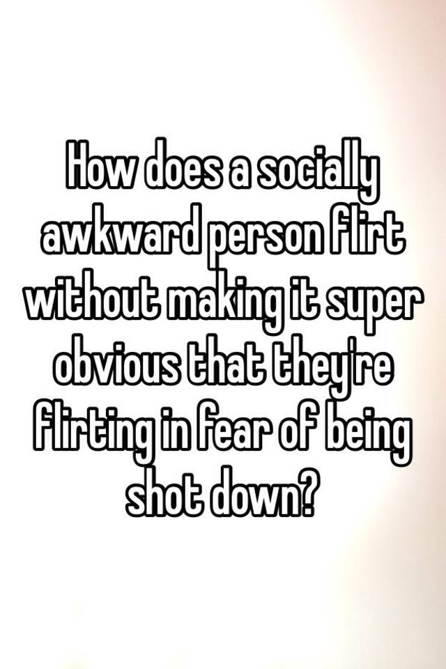 Agree, how to flirt without being obvious theme, will