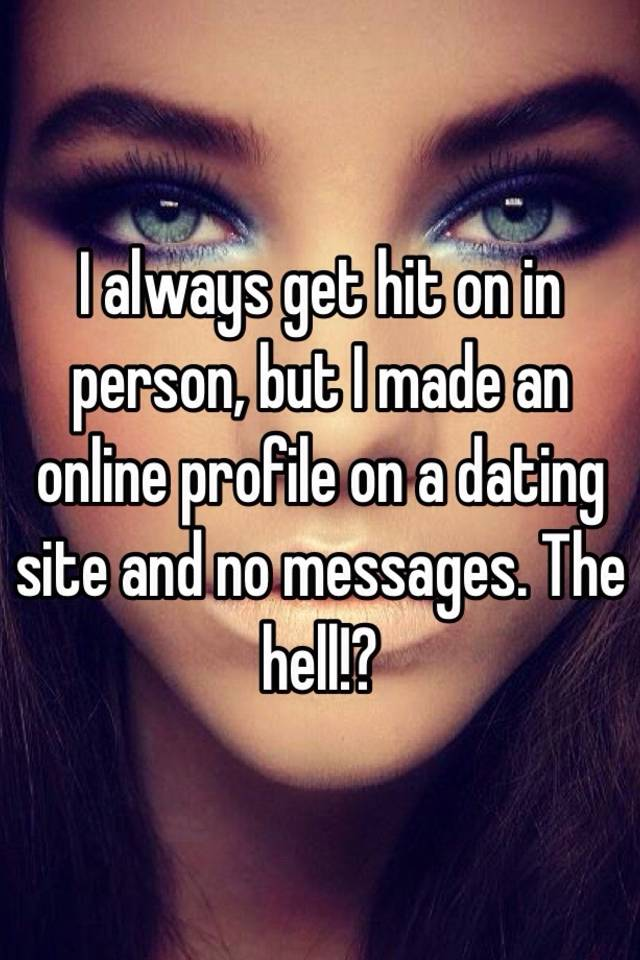 online dating no messages