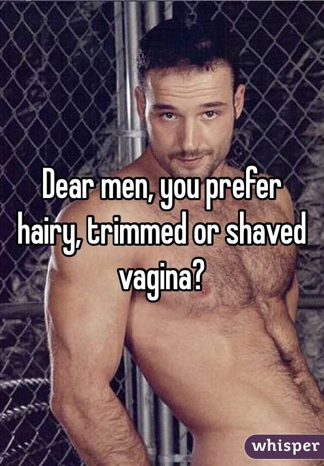 Are Men prefer bald pussy