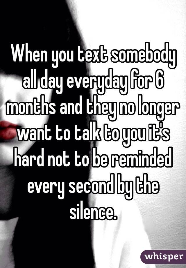you someone everday... text When