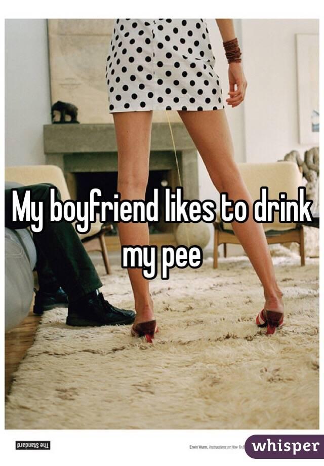 How do i pee on my boyfriend