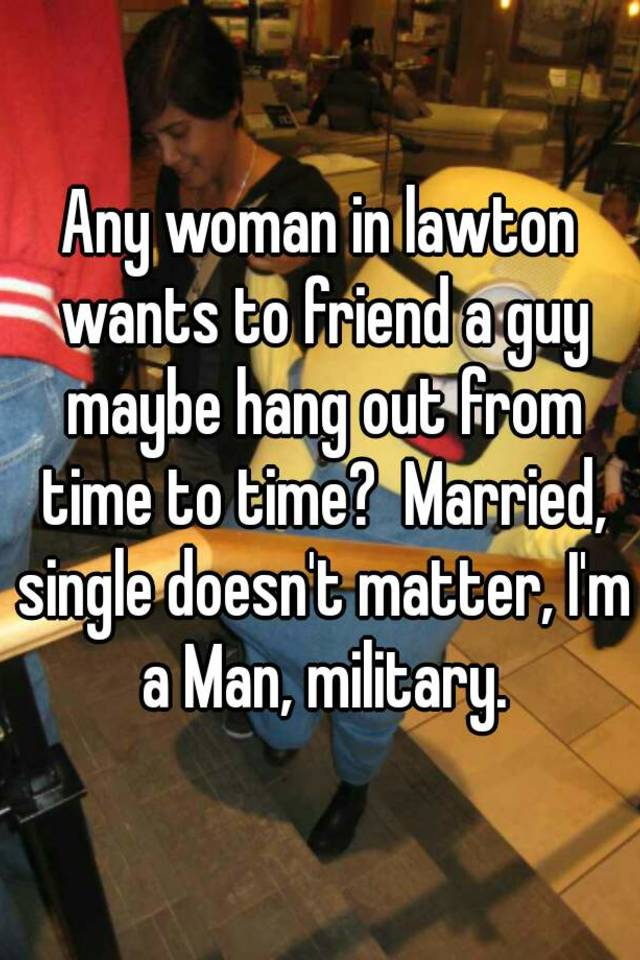 Married woman single guy friend