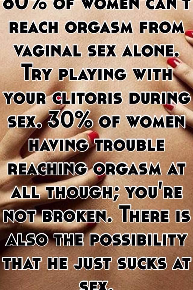 Ways to reach an orgasm
