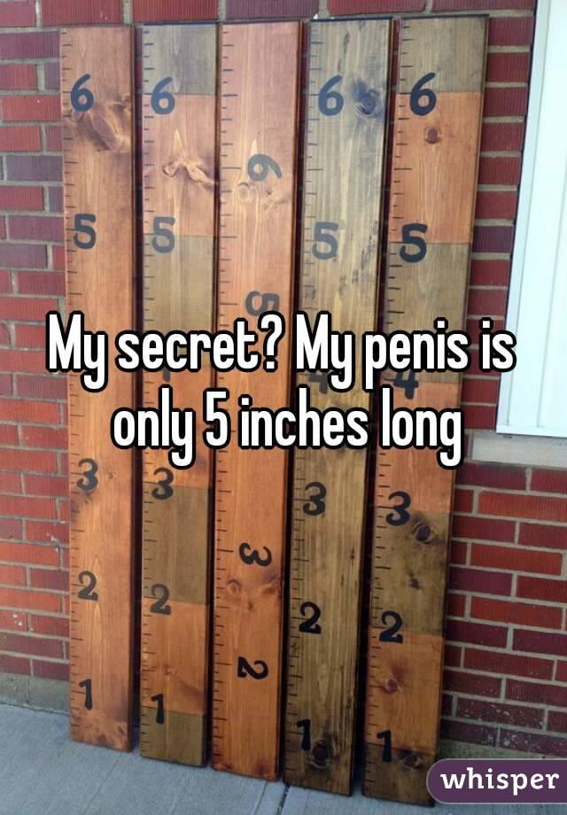 My penis is 5