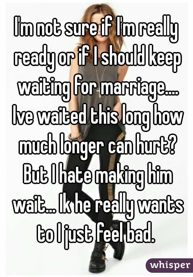 How Lingering Should I Discern Him Wait