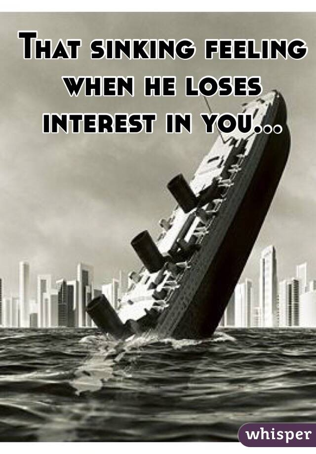What To Do When He Loses Interest