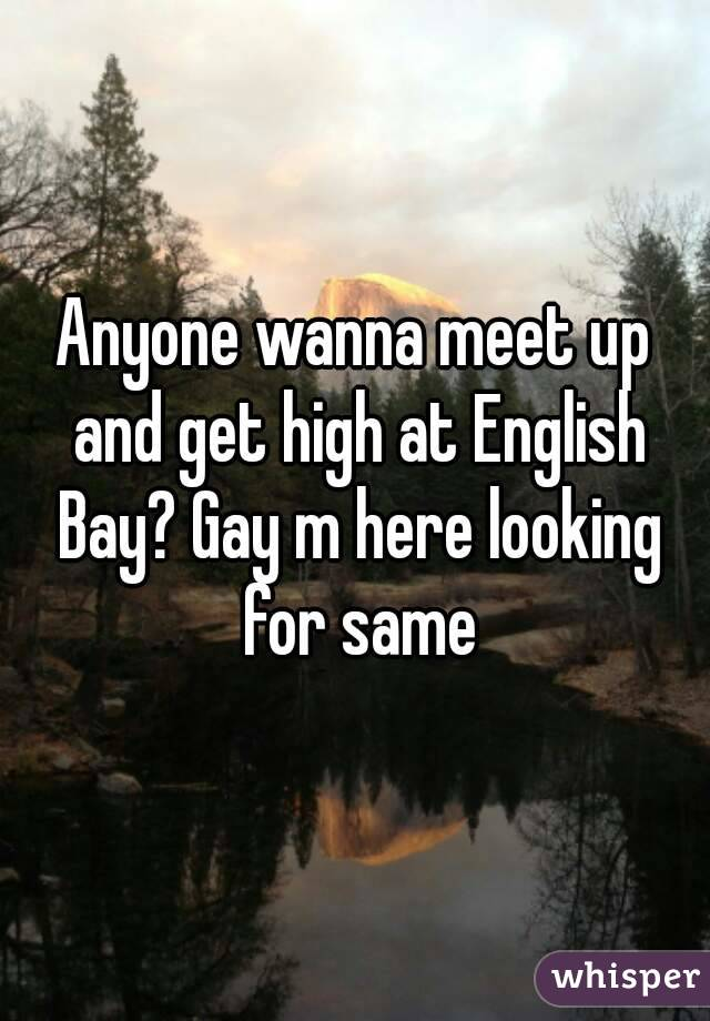 Anyone wanna meet up and get high at English Bay? Gay m here looking for same