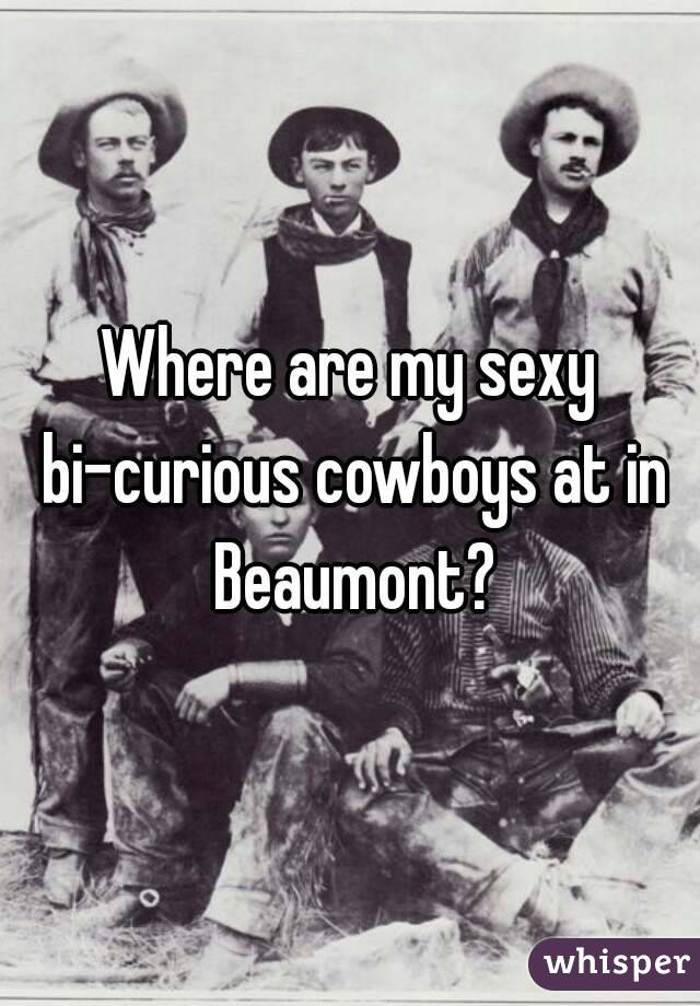 Where are my sexy bi-curious cowboys at in Beaumont?