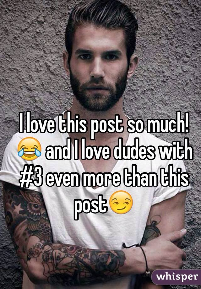 3 dudes for love