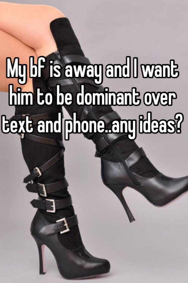 Dominate to man text how ❤️ a over 🙅♂️ Man