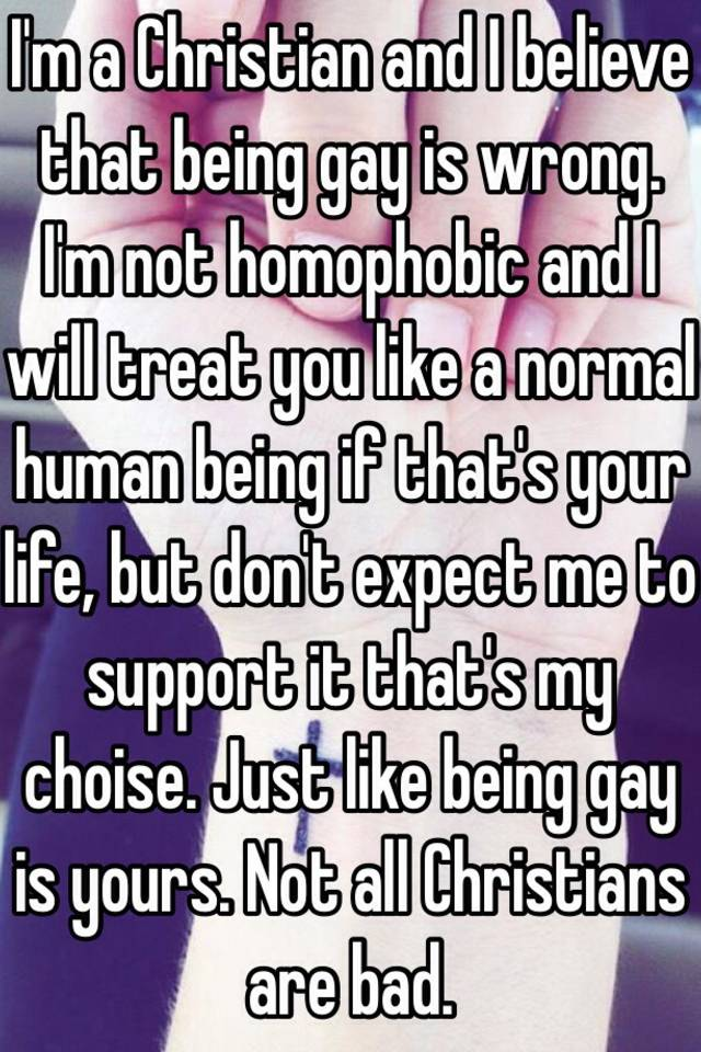from Kason how are gays treated poorly