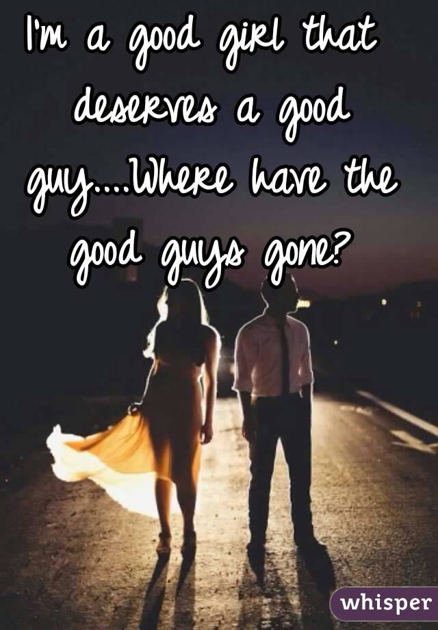 Where to find a great guy