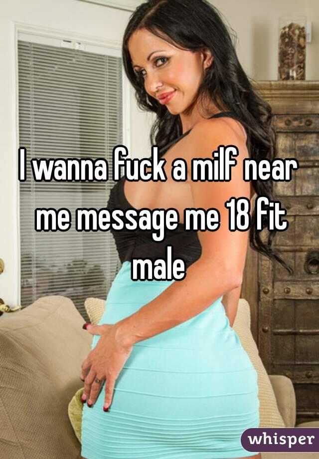 Wanna fuck milf