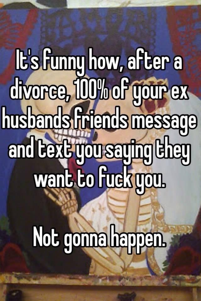 Making new friends after divorce