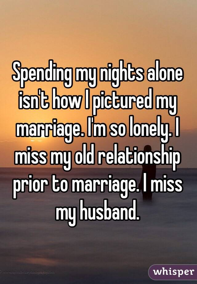 Lonely marriage why my am in i Why Loneliness