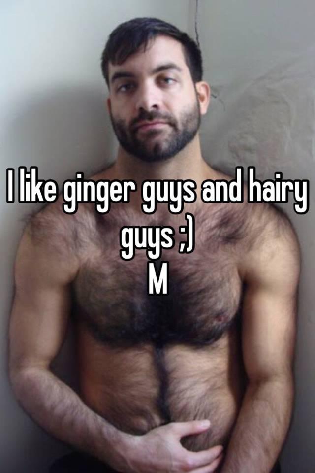 Ginger hairy men