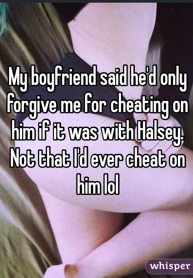 Will He Ever Disregard Me For Cheating