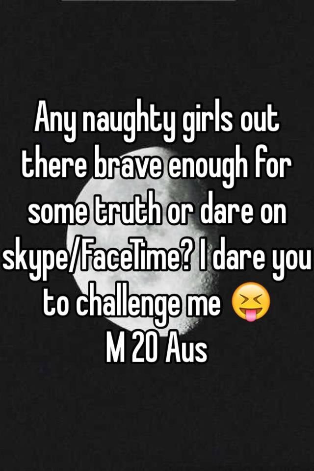Naughty skype girls