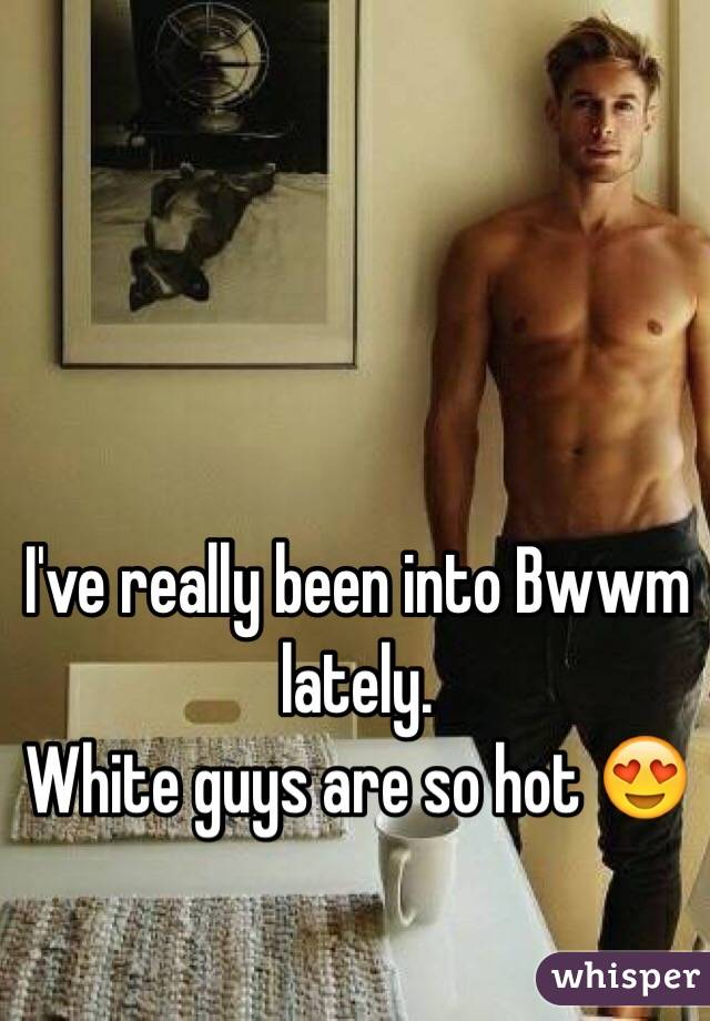 Why are white men so hot